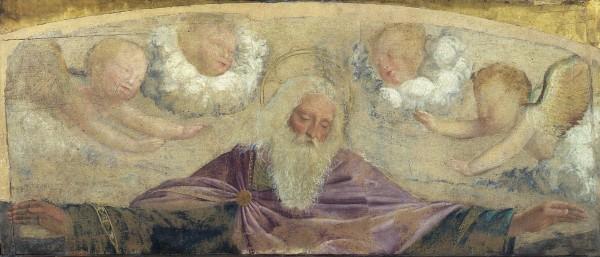Dio Padre e angeli