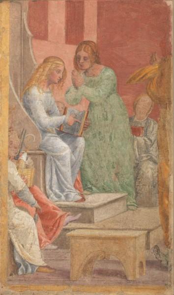L'infanzia di Maria Vergine al Tempio