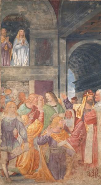 San Giuseppe eletto sposo della Vergine