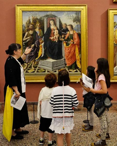 Santi per primi è una delle proposte dei Servizi Educativi della Pinacoteca di Brera