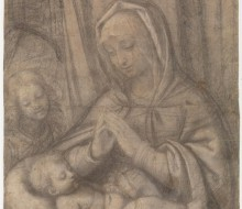 Madonna and the Child with an Angel