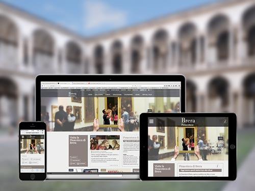 Il nuovo sito della Pinacoteca di Brera è fully responsive