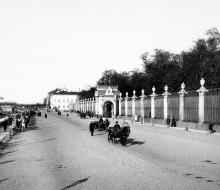 Giardini d'estate a San Pietroburgo