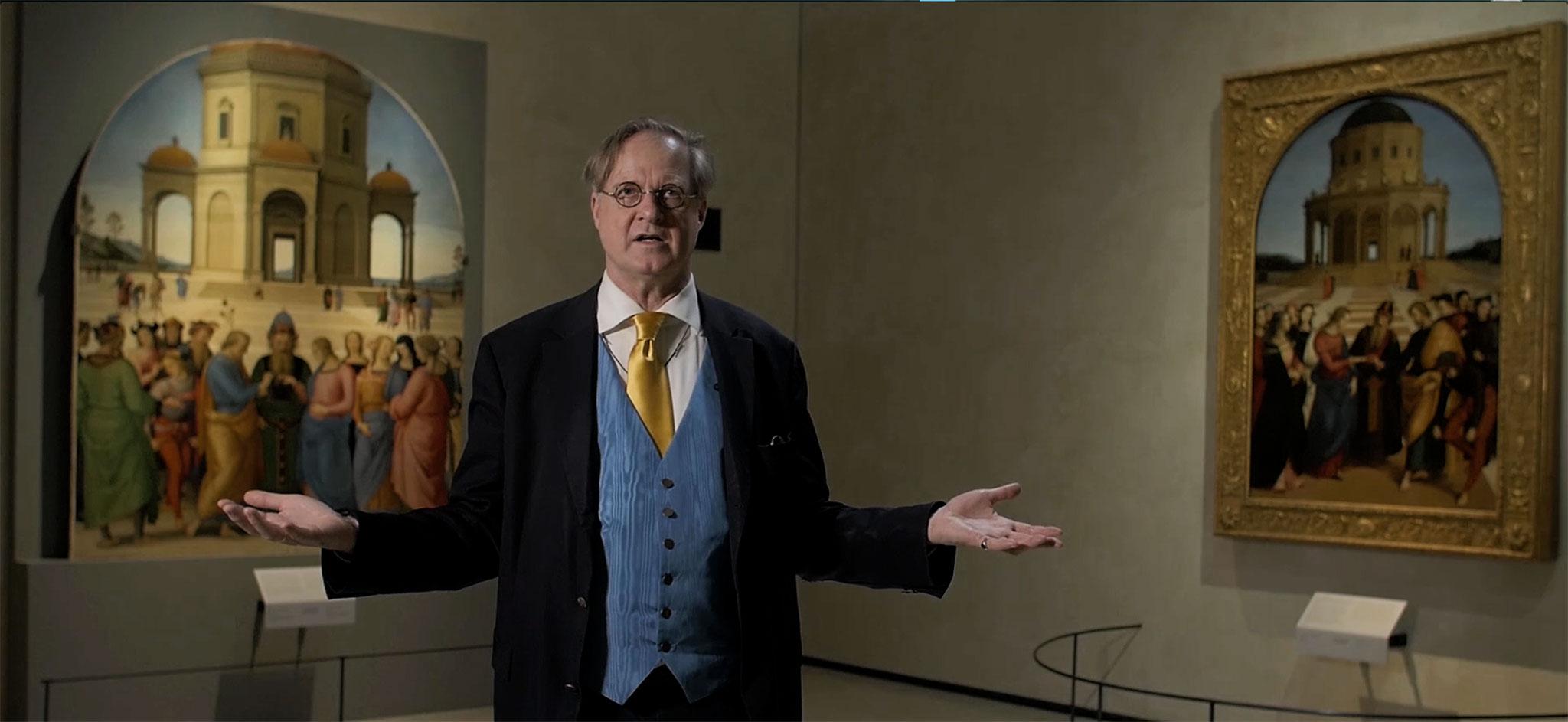 James M. Bradburne <br>presenta <br>Raffaello e Perugino