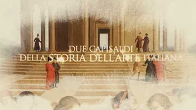 First dialogue Raphael and Perugino | Video Teaser