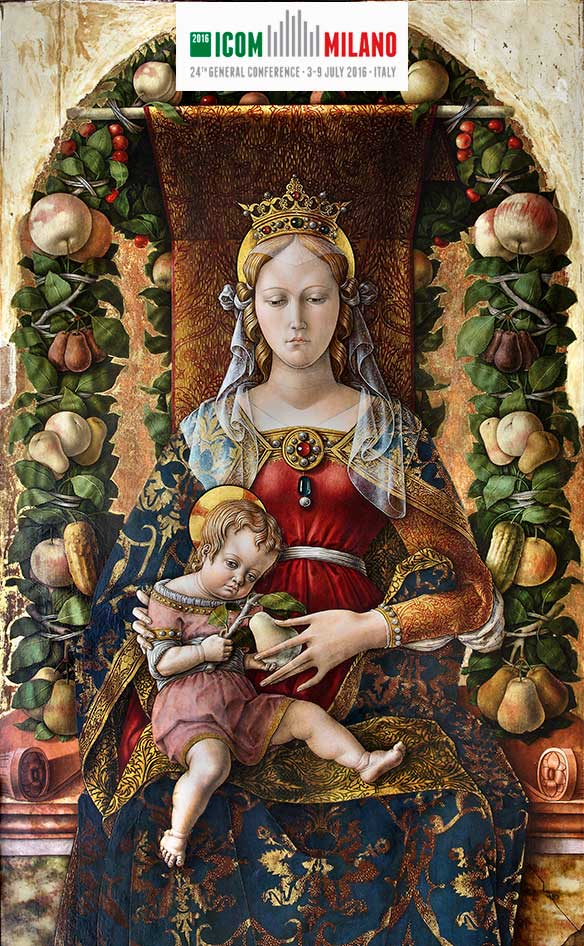 #raccontamibrera on Carlo Crivelli, Madonna of the Candle
