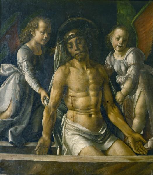 Pietà con due angeli