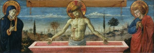 Cristo in pietà tra la Vergine e san Giovanni