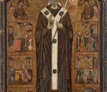 San Verano tra due angeli e sei storie della sua leggenda