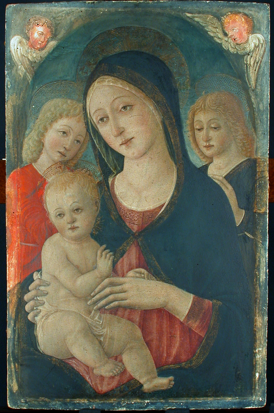 madonna and child with angels parmigianino - photo #25