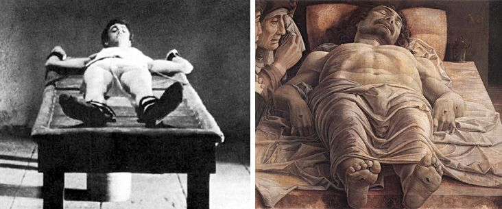 Pittura e cinema - La scena finale del film Mamma Roma di Pier Paolo Pasolini