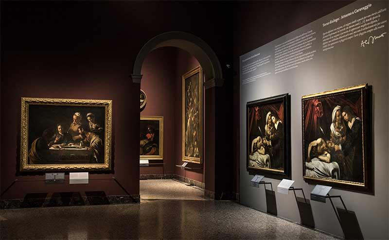 """La sala 28 della Pinacoteca di Brera ospita il terzo dialogo """"Attorno a Caravaggio"""""""