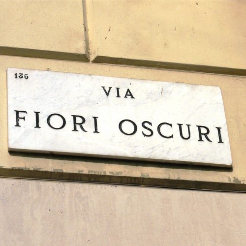 On October, 13th entrance of the museum from via Fiori Oscuri 2