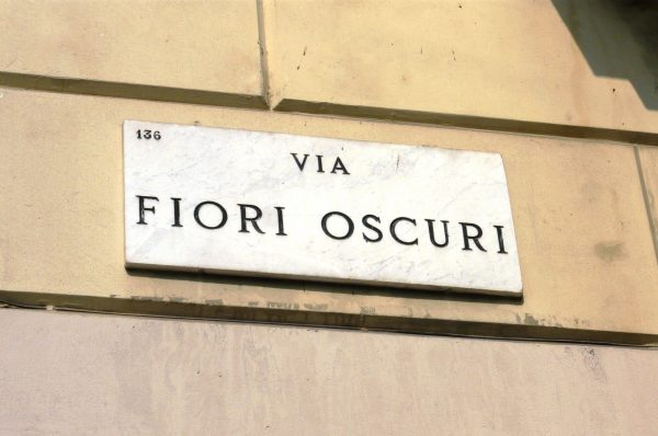 Ingresso in via Fiori Oscuri 2, Giovedì 13 ottobre