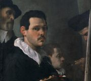 Self-Portrait with Other Figures