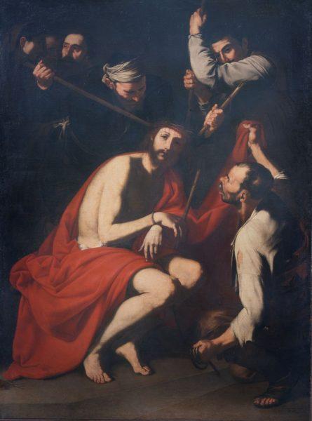 Cristo deriso e coronato di spine