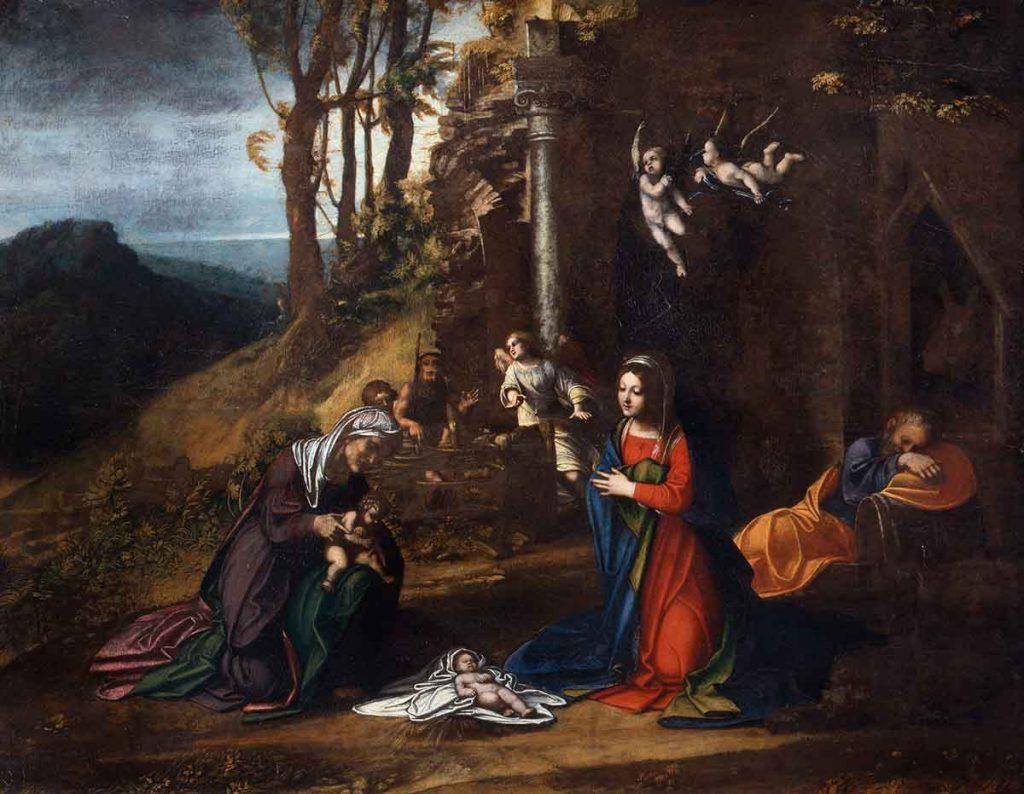 Natività a Brera. Le immagini del Natale