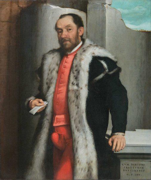 Giovan Battista Moroni, <em>Ritratto di Antonio Navagero</em>, 1565