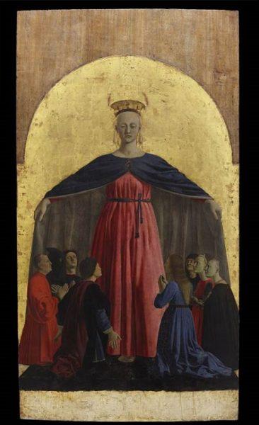 Madonna della Misericordia, Piero della Francesca, 1444-1464