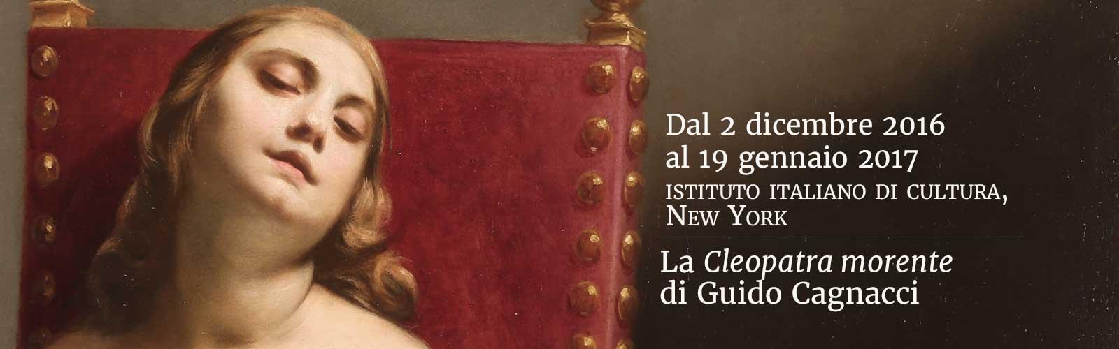 La Cleopatra morente di Guido Cagnacci