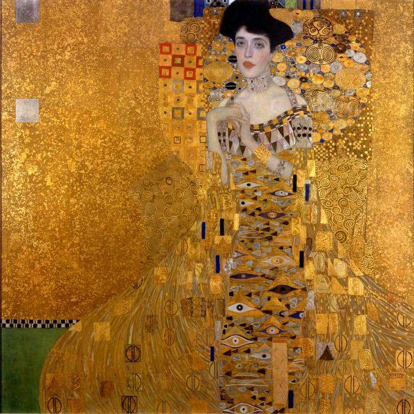 Ritratto di Adele Bloch-Bauer, Gustav Klimt, 1907.New York, Neue Galerie