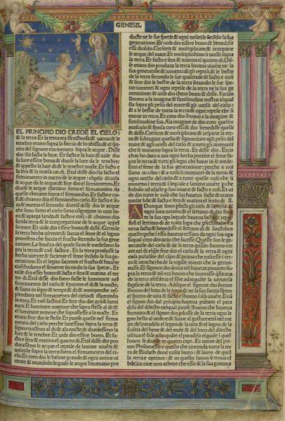 Prima di Lutero. La Bibbia volgare italiana di Nicolò Malerbi