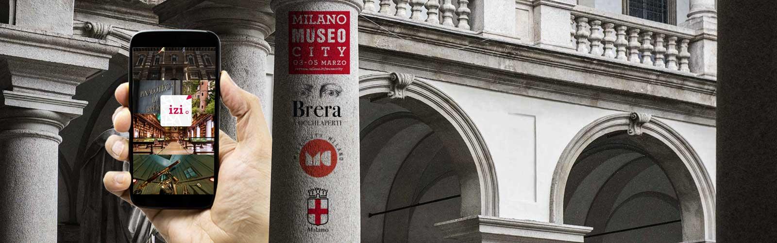 Museo City <br>alla Pinacoteca di Brera
