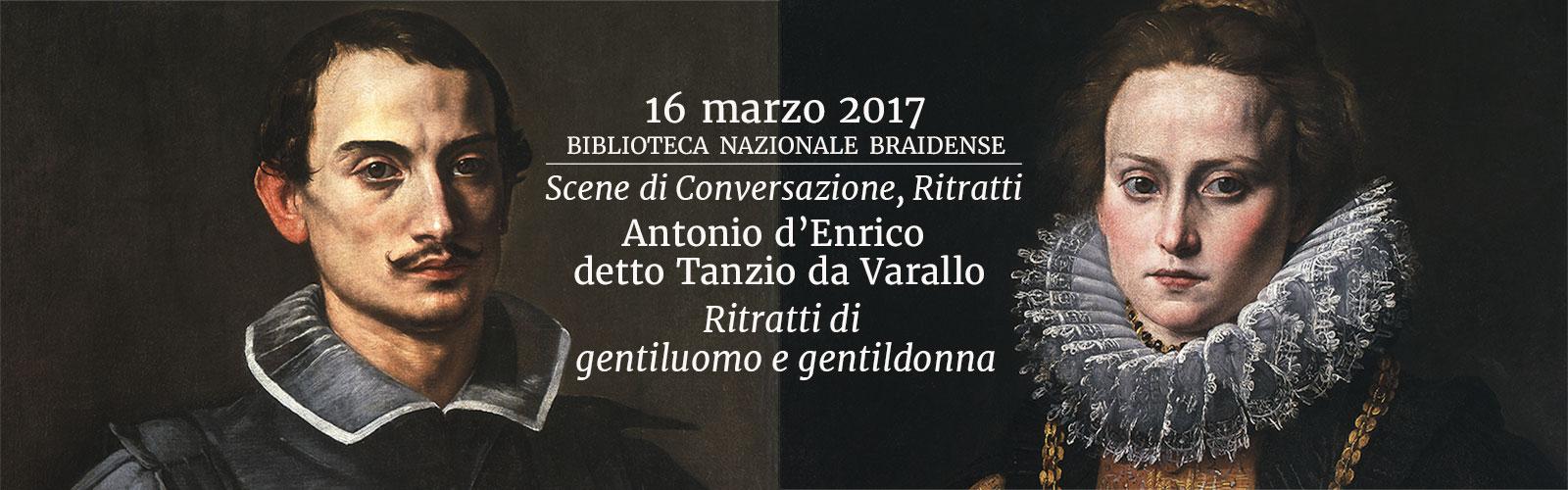 Antonio d'Enrico detto Tanzio da Varallo, <em>Ritratti di gentiluomo e gentildonna</em>, 1613-1615