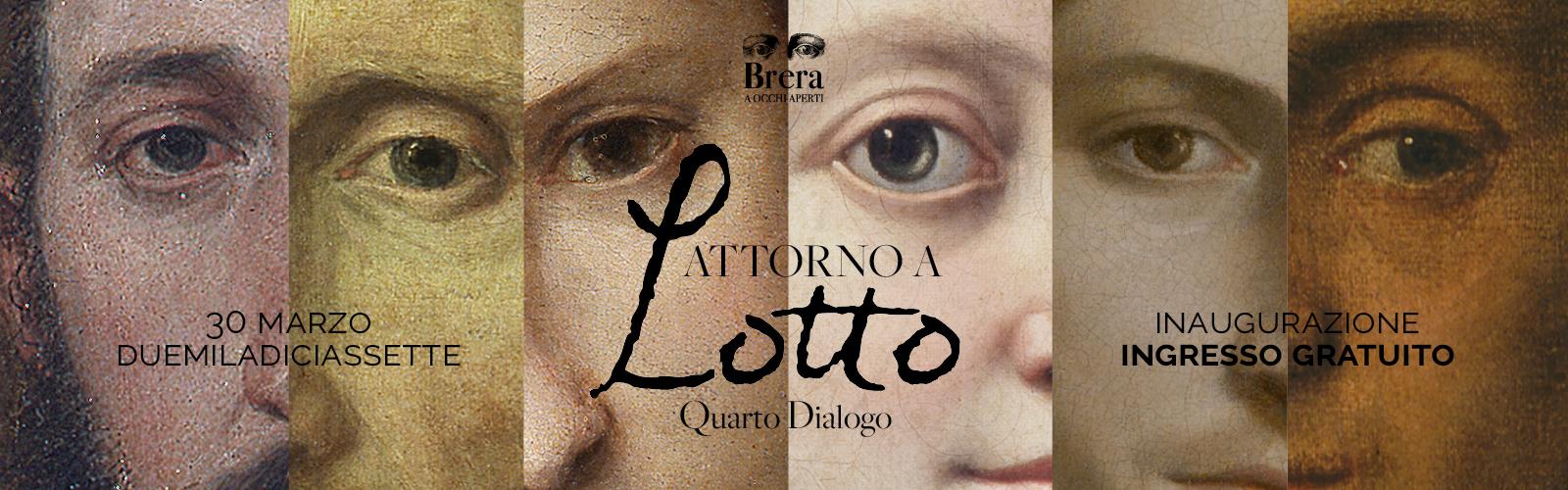 """Inaugurazione quarto dialogo """"Attorno a Lotto"""""""