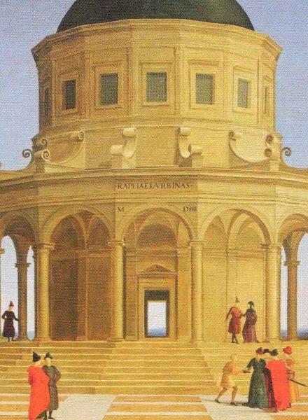 Sposalizio della Vergine, Raffaello Sanzio, 1504 (dettaglio)