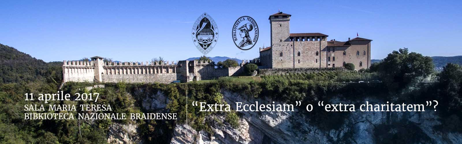 """""""Extra Ecclesiam"""" o """"extra charitatem""""?"""