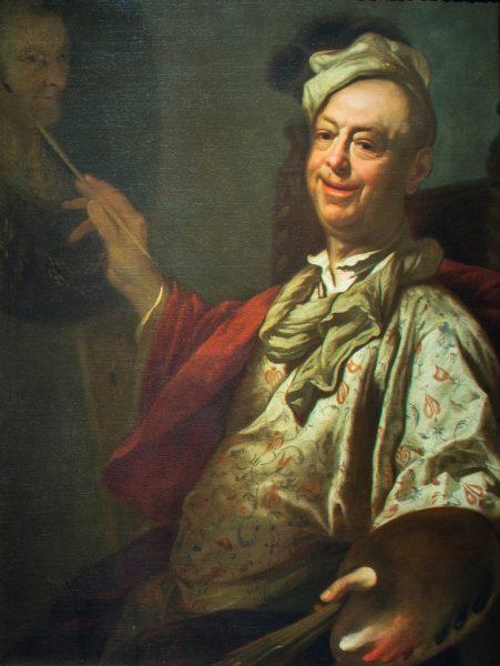 Autoritratto al Cavalletto