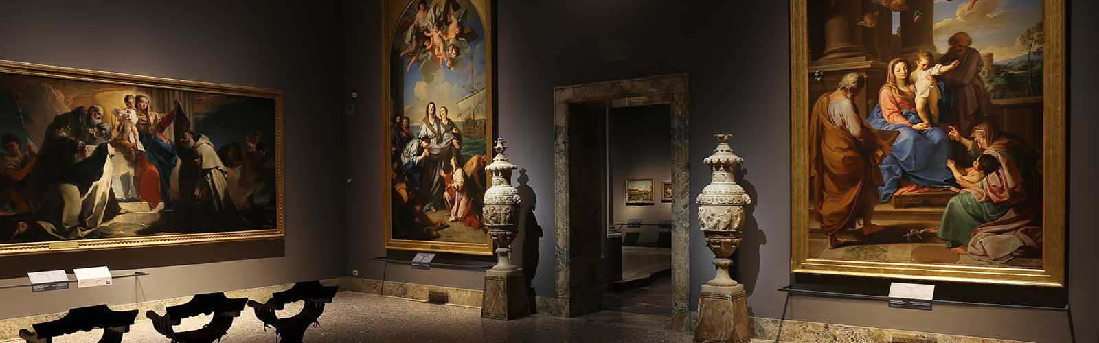 Sunday at the museum in Pinacoteca di Brera