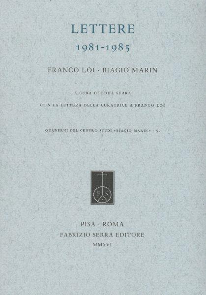 Biblioteca-Braidense-Franco-Loi-Biagio-Marin-Lettere-1981-1985-Sala-Lalla-Romano