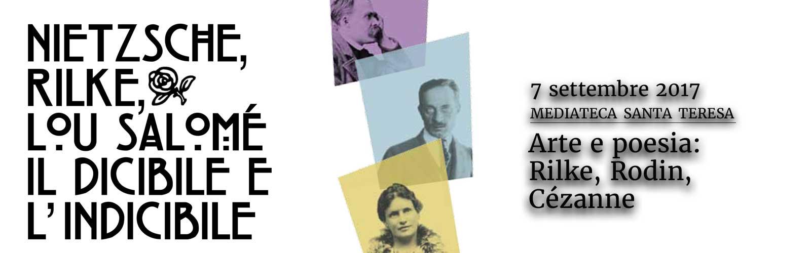 Arte e poesia: Rilke, Rodin, Cézanne