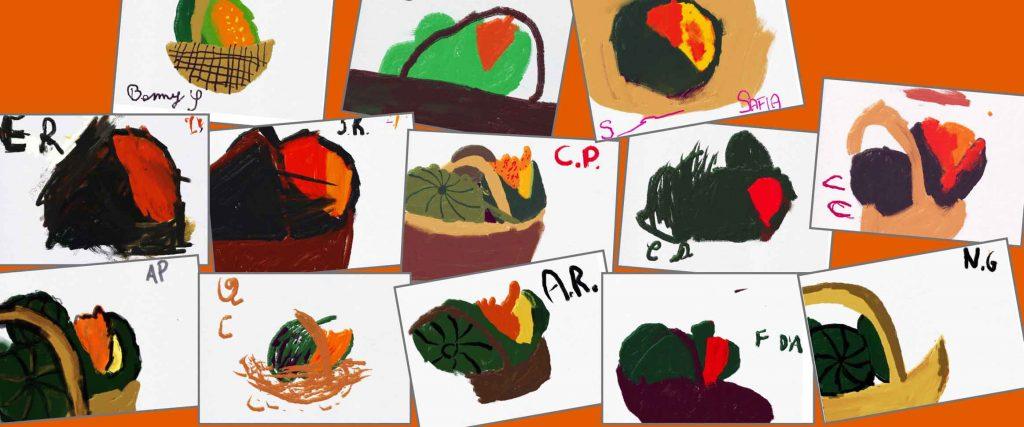 Segno e colore. I trucchi dell'artista per costruire la realtà. <em>Speciale Halloween: teschi e zucche</em>
