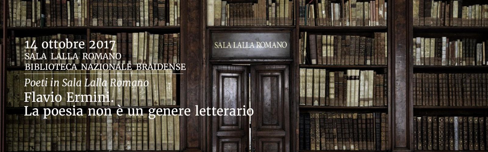 Flavio Ermini. La poesia non è un genere letterario