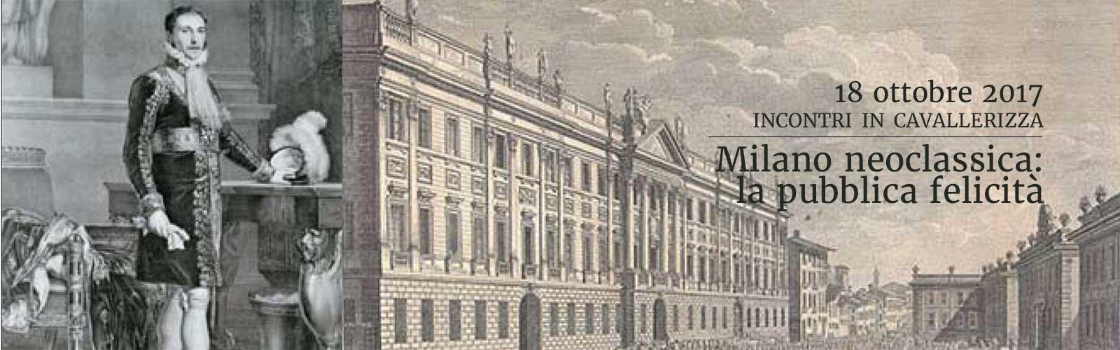 Milano neoclassica: la pubblica felicità