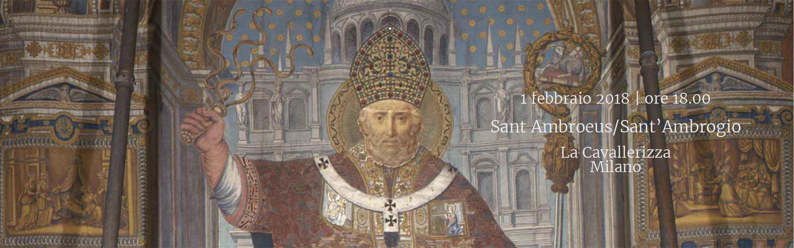 Sant Ambroeus / Sant'Ambrogio