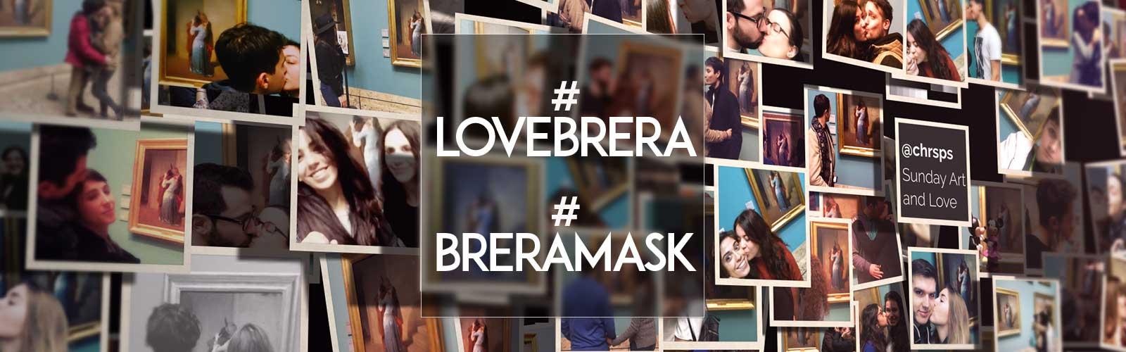 A febbraio in Pinacoteca con #Lovebrera e #Breramask