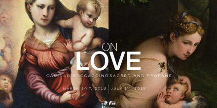 "Sixth dialogue ""On Love. Camillo Boccaccino, Sacred and Profane"""