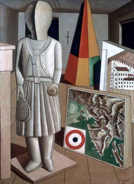 Carlo Carrà, <em>Musa Metafisica</em>, 1917