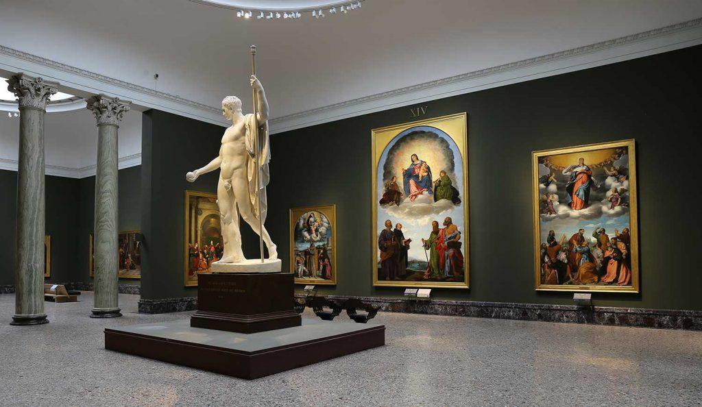 Saloni napoleonici, il cuore nuovo della Pinacoteca di Brera