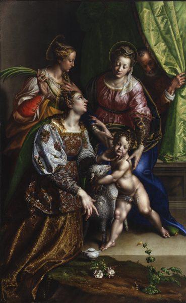 Madonna con il Bambino, San Giuseppe, Santa Caterina e Sant'Agnese