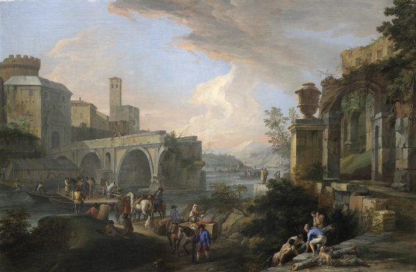 Capriccio con il Ponte Rotto
