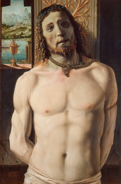 Christ Tied to the Column | Pinacoteca di Brera