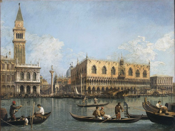 View of the Basin of San Marco from the Punta della Dogana