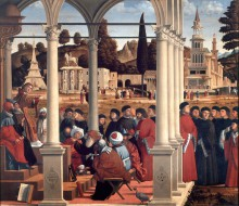 The Disputation of Saint Stephen among the Doctors in the Sanhedrin