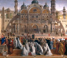 Saint Mark Preaching in a Square of Alexandria in Egypt