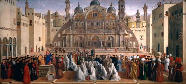 Predica di San Marco in una piazza di Alessandria d'Egitto